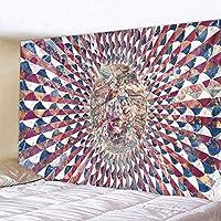 マンダラタペストリーボヘミアン壁掛けドリームハンギング布マンダラプリントタペストリーリビングルームのベッドルームのホームインテリアタペストリーバリ (Color : 2020 438, Size : 150x150cm)