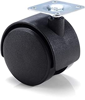 Bumpy Road Furniture Wheel Table Caster 30mm 40mm 48mm Plate without Brake Swivel Castor Wheels Replace Trolley Cart Rolle...