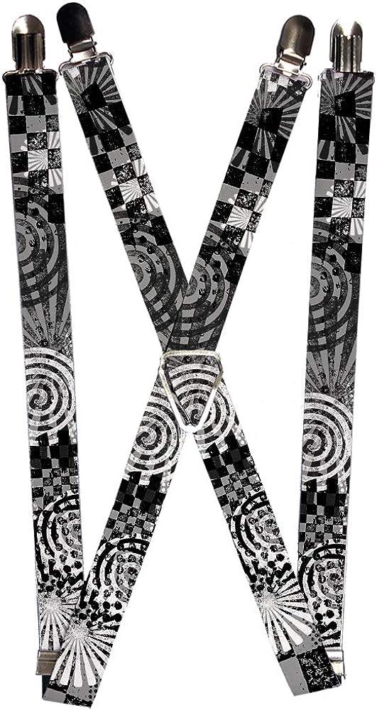 Buckle-Down Suspender - Grunge Chaos