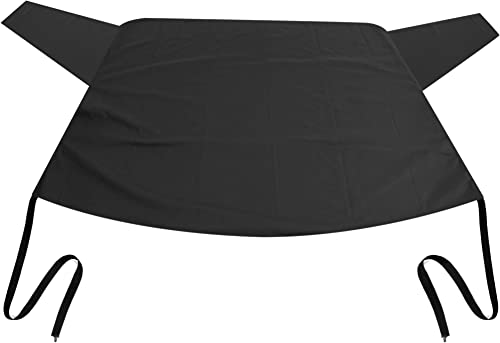 OxGord Rear Windshield Snow Cover Ice Removal Wiper Visor Protector All Weather Winter Summer Auto Sun Shade for Cars Trucks Vans and SUVs Stop Scraping with a Brush or Shovel