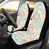 Sitzbezüge Jeap Cute Schöne Romantische Schleife Rock Autositzbezüge Protector