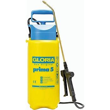 GLORIA Drucksprüher prima 5 | Gartenspritze | 5 L Füllinhalt | Verstellbare Messingdüse