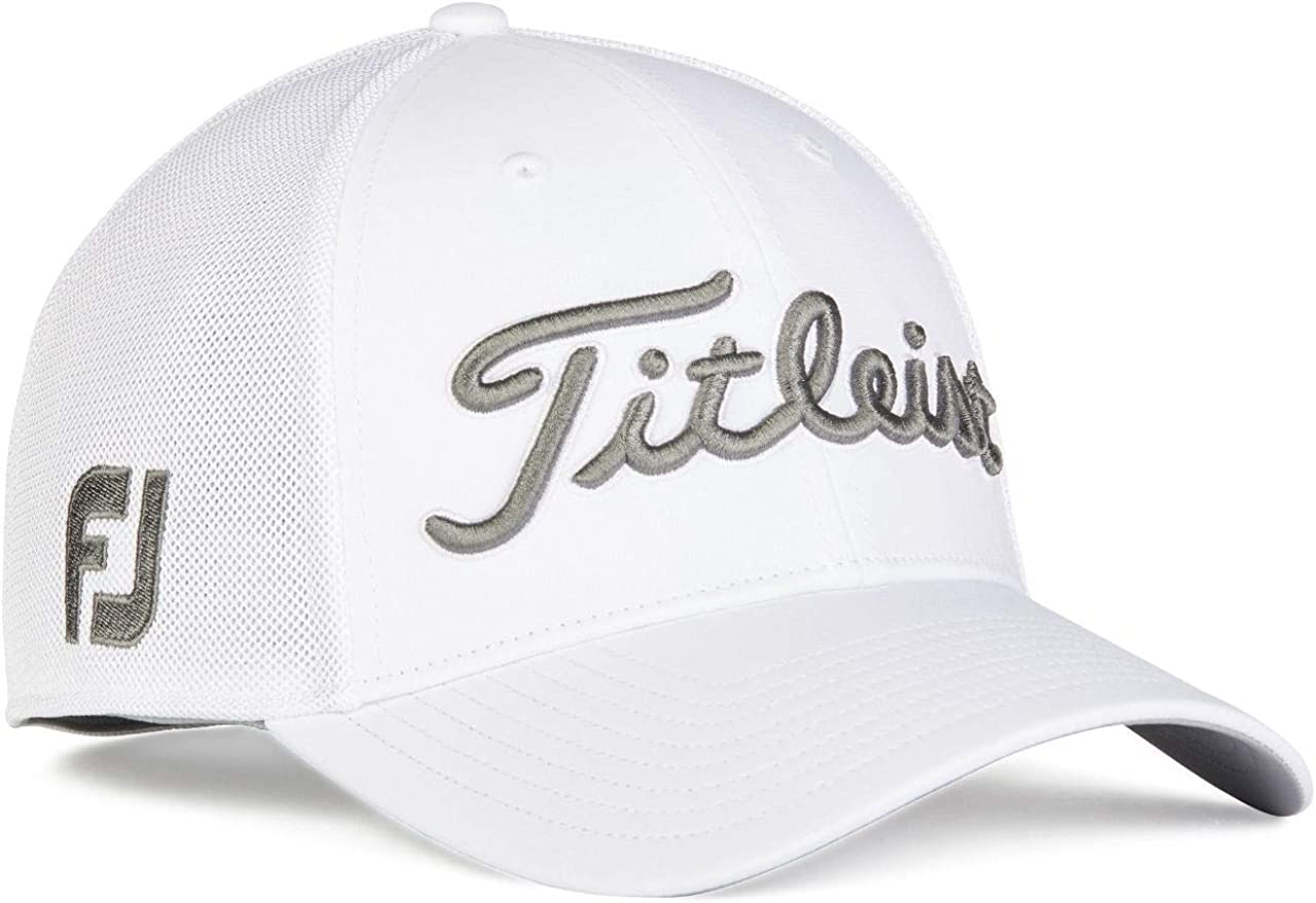 Outlet SALE Titleist Max 80% OFF Golf- Tour Sports Mesh Cap Collection White