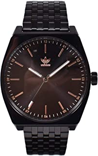 7e54c0174ad4 adidas Relojes Hombres Accesorios Relojes de Reloj Proceso M1 Negro Tamaño  Estándar