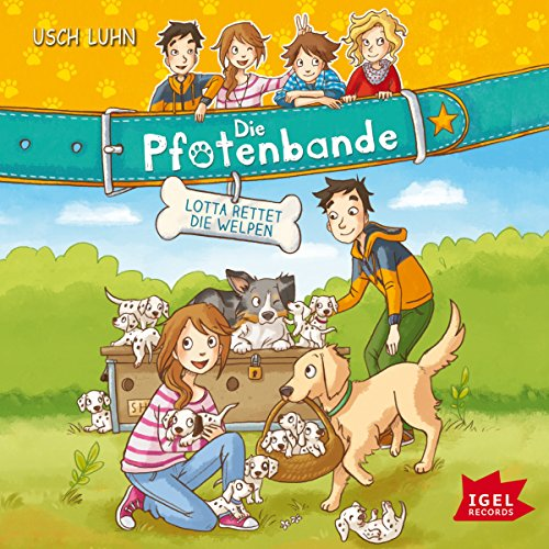 Lotta rettet die Welpen audiobook cover art