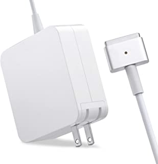 Mac Book Pro Charger, AC 60W Magsafe2 T-Tip Power Adapter Charger Replacement For MacBook Pro 13.3