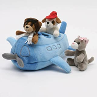 "Airplane House with Finger Puppets 10"" by Unipak Designs"