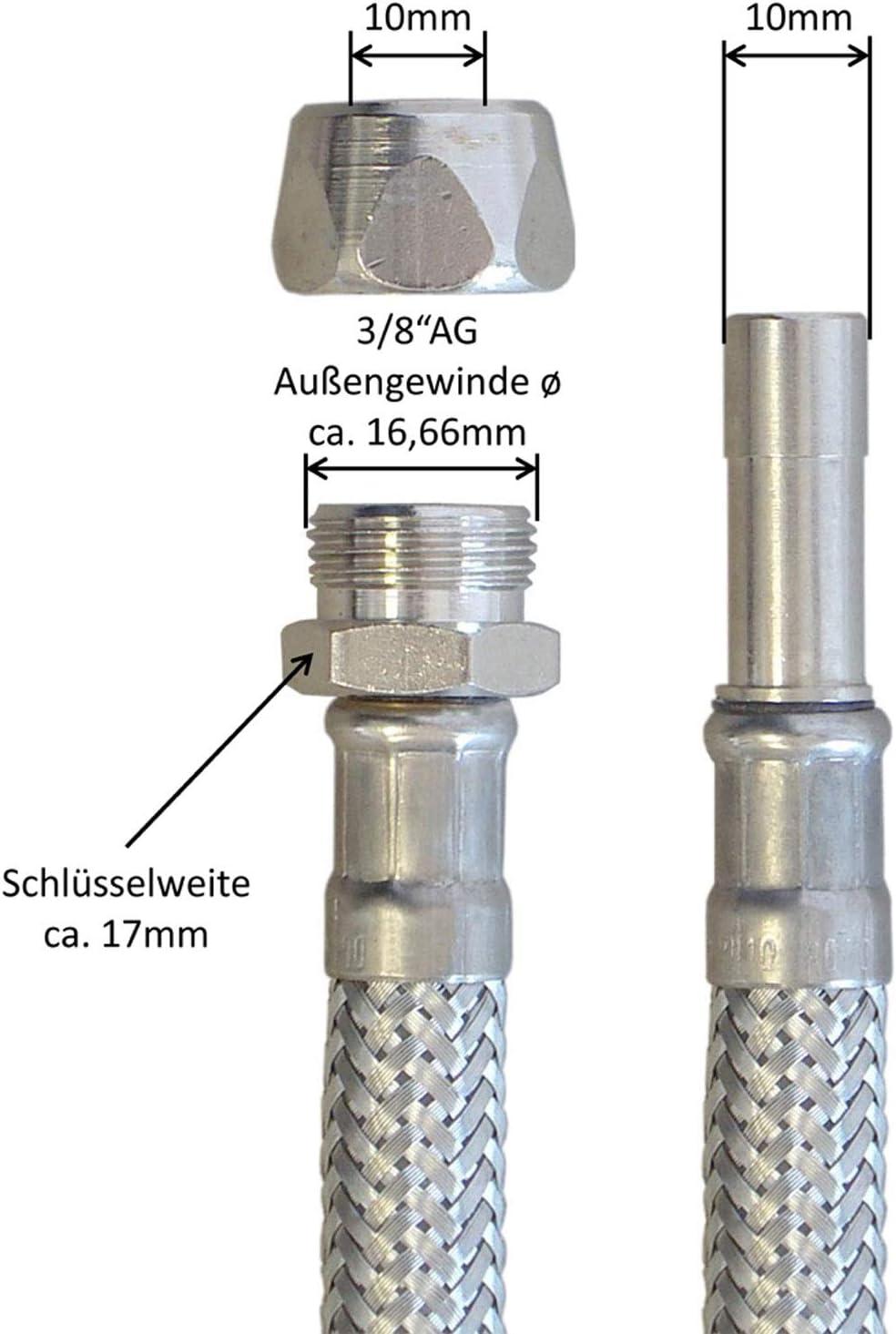 Kunststoffschlauch Außen-Durchmesser:10mm Zulassung:TÜV 558208 PLN-10X1,5-BL