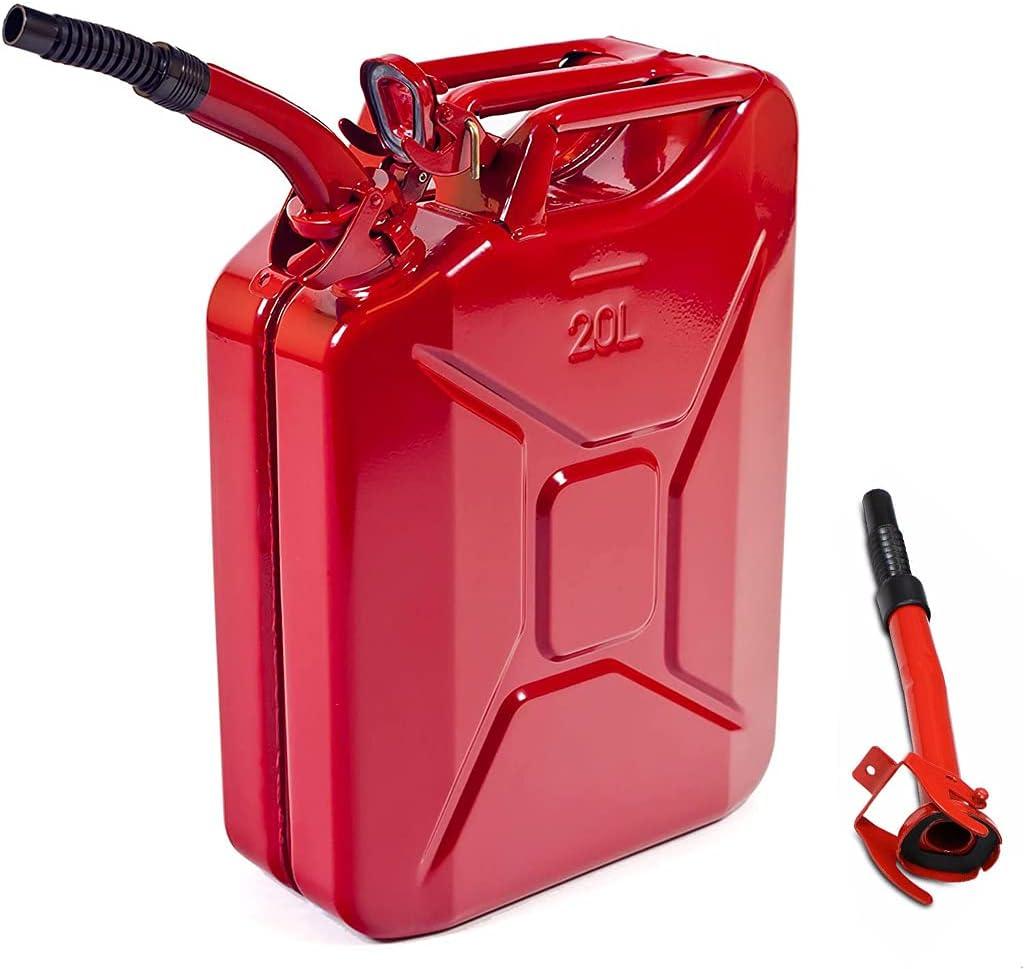 Amzoss 5 Gallon Metal Gas Can