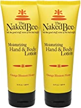 The Naked Bee Orange Blossom Honey Hand and Body Lotion, 6.7oz - 2 Pack
