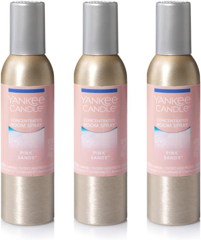 Yankee Candle Our shop most popular Concentrated Room Pink Sands Spray Max 58% OFF 3-Pack