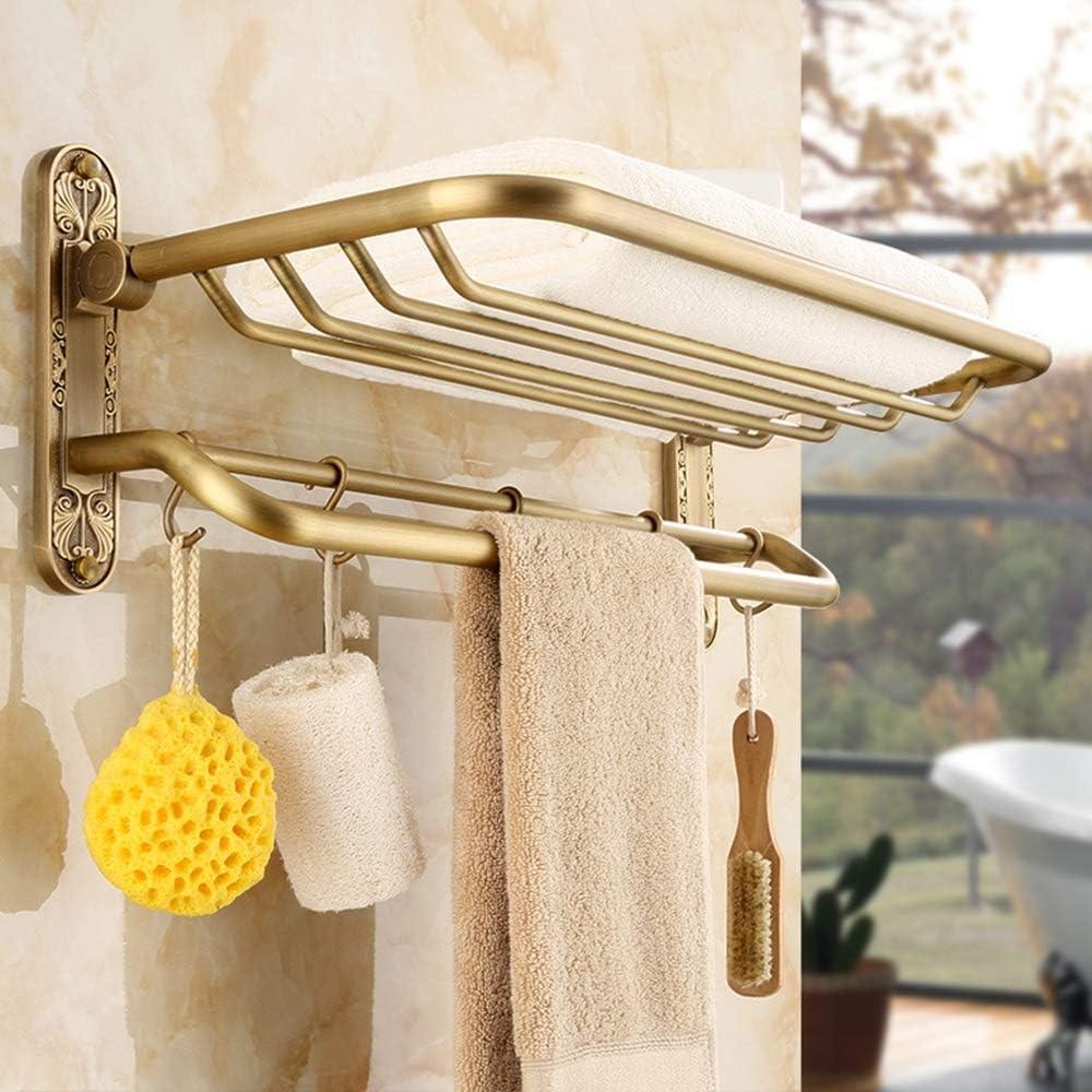 Bathroom shelf Shelf Towel Holder 60cm Excellence Limited time cheap sale Wall Mounted 23i