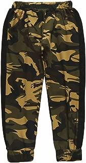 LAJIFENLEI 1-5T Baby Boys' Pull on Cargo Jogger Pants Spring Autumn Cotton Camouflage Harem Trouser