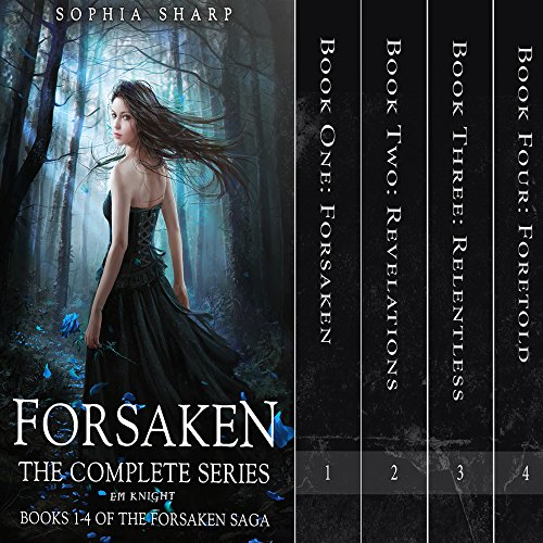 The Forsaken Saga Complete Box Set (Books 1-4) audiobook cover art