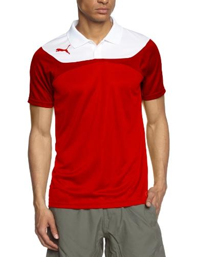 PUMA Herren Polo Shirt Esito 3 Leisure Red/White, XL