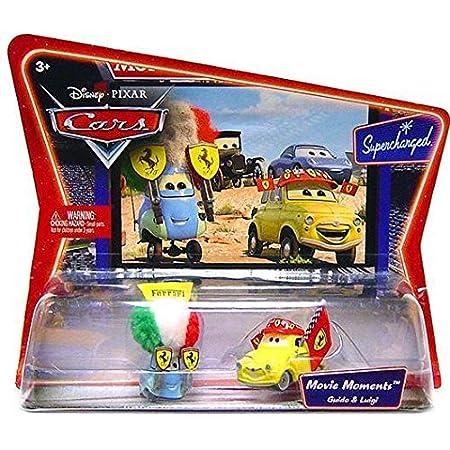 Disney Pixar Cars Movie Moments Guido Luigi Mit Ferrari Gear Ovp Amazon De Spielzeug