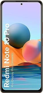 (Renewed) Redmi Note 10 Pro (Vintage Bronze, 6GB RAM, 128GB Storage) -120Hz Super Amoled Display | 64MP with 5MP Super Tel...
