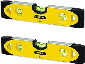 Stanley 43-511 Magnetic Shock Resistant Torpedo Level NIP (2 Pack)