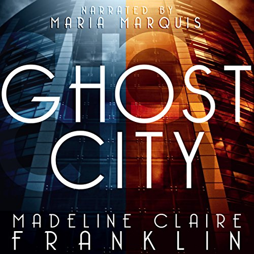 Ghost City audiobook cover art