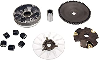 Drive Wheel Assy Performance 8.5 Gram Rollers CVT Front Clutch for Scooter Atv and Gokart Complete Variator Kits for Gy6 50cc//80cc 139QMB//147QMD Engine GY6 50//80