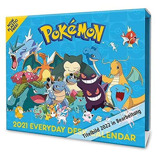 Pokemon 2022: Original Danilo-Tagesabreißkalender [Kalendar]: Original Danilo-Tagesabreißkalender [Mehrsprachig] [Kalender]