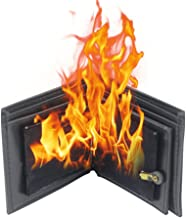 Ocamo Magic Props Magic Trick Flame Fire Wallet Magician Trick Wallet Stage Street Show Bifold Wallet