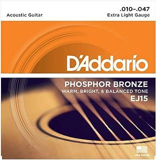 D'Addario EJ15 Bronze Acoustic Guitar Strings