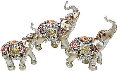 Amazon.com: Vyomshop vzx202 decorativo Elefante par estatua ...