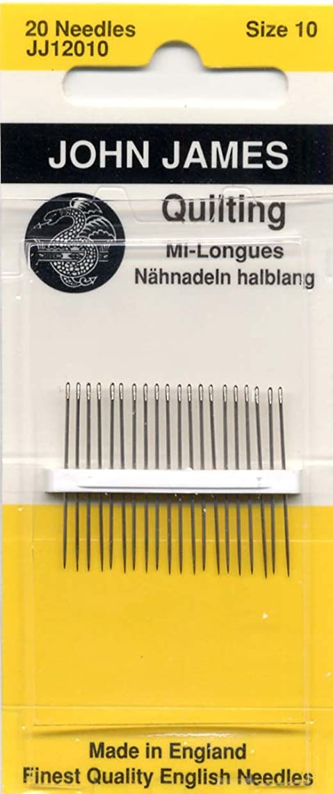 Colonial Needle Quilting/Betweens Hand Needles-Size 10 20/Pkg