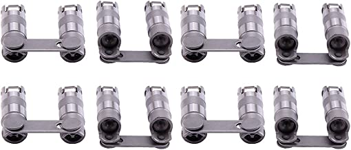 maXpeedingrods for Chevy 350 Roller Lifters, Hydraulic Roller Lifters for GM Chevy Chevrolet SBC Small Block V8 350 265 28...