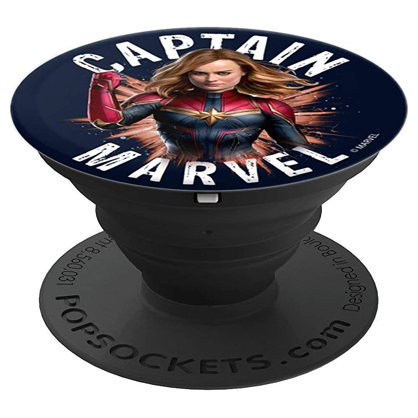 Avengers Endgame Captain Marvel Space Poster - PopSockets Grip and Stand for Phones and Tablets