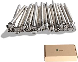 Co-link Hot 20pcs DIY Leather Working Saddle Making Tools for Leather Craft Working - Silver