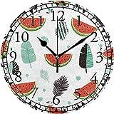 sam-shop Mtcwnja2mdi2cgt3v21bazfrmkzq Números arábigos Reloj de Pared Decorativo