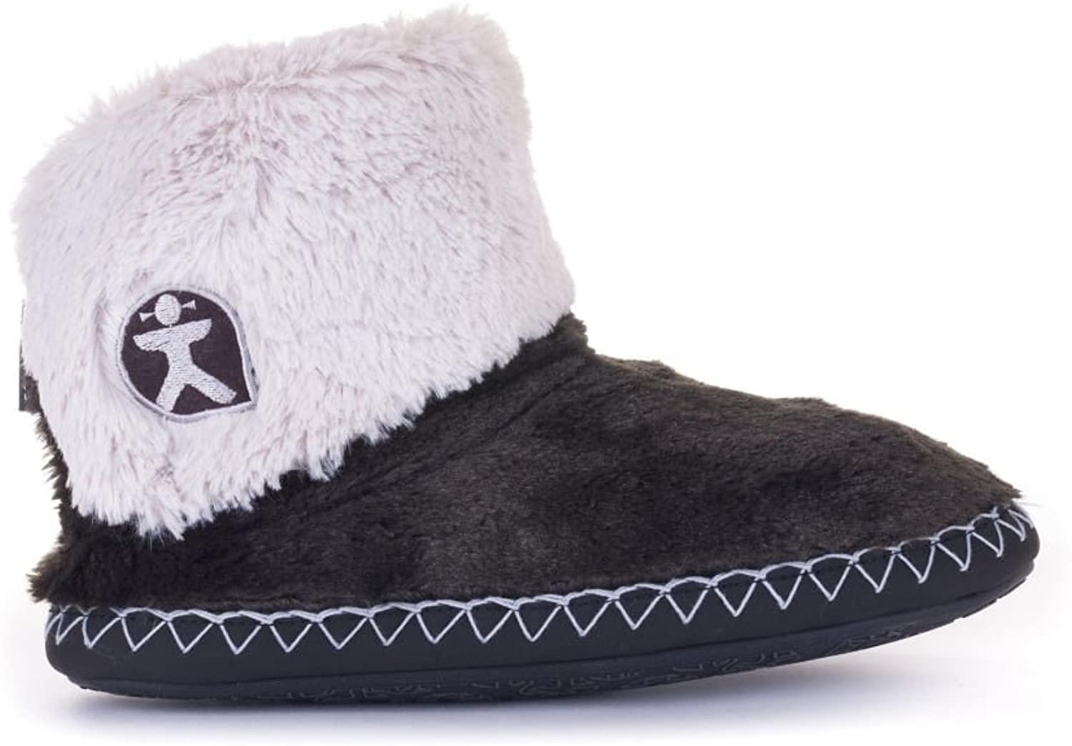 Bedroom Athletics Audrey - Charcoal Trace Grey (Textile) Womens Slippers