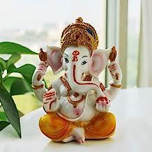 BangBangDa Hindu God Statue Fengshui Ganesh Figurine India Buddha Elephant Lord Ganesha Sculpture Yoga Meditation Wedding ...