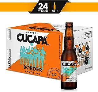 Cerveza Artesanal Cucapá Border Amber Ale 24 botellas de 355ml c/u