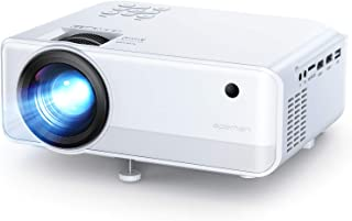 進化版】APEMAN プロジェクター小型 LED 5500lm 1920×1080最大解像度 3000:1コントラスト比 台形補正 スピーカーが二つ内蔵 HDMI/USB/VGA/TF/AV/対応 スマホ/TV Stick/タブレット/X-Bo...