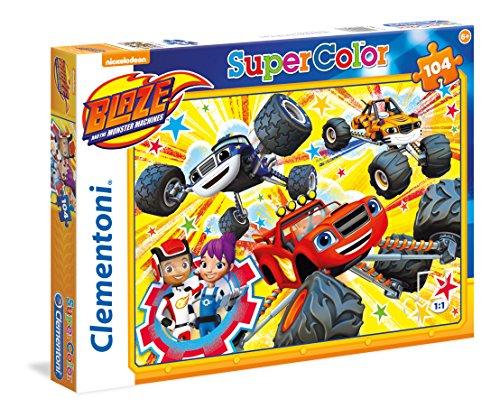 Puzzle (104 Piezas), diseño de Blaze and The Monster Machines (27087)