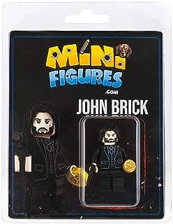 Custom Design Minifigure - John Wick Inspired John Brick