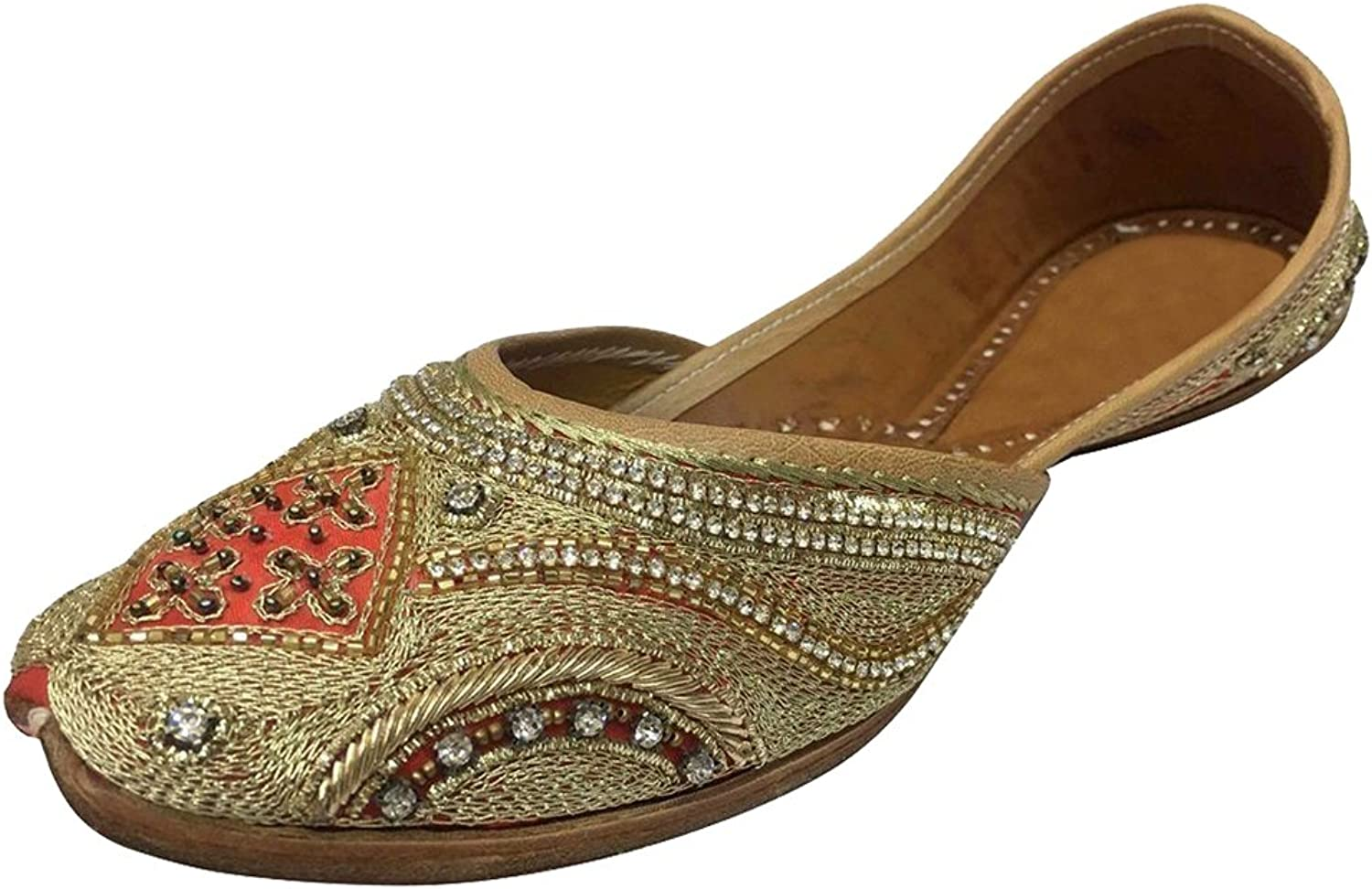 Step n Style Indian shoes Khussa Jutti Bridal shoes Traditional Salwar Suit Sandals