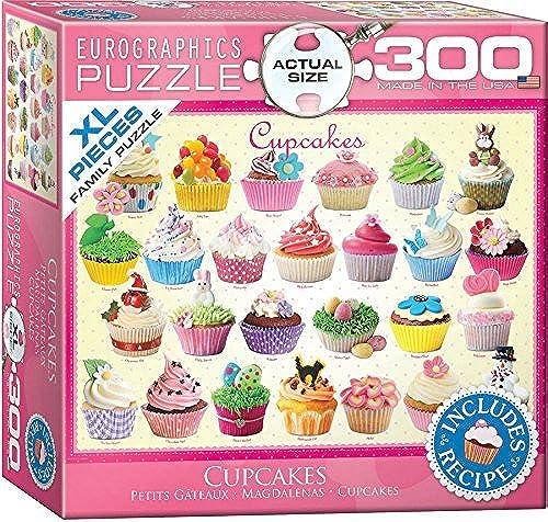 popular Cupcakes Puzzle, Puzzle, Puzzle, 300-Piece by EuroGraphics  con 60% de descuento
