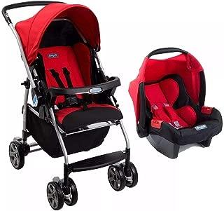Travel System Ecco Red (Vermelho) Touring Evolution Se - Burigotto
