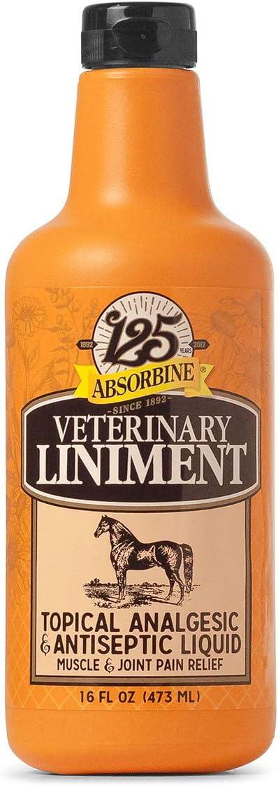Absorbine Veterinary Classic shipfree Liniment Liquid 16oz