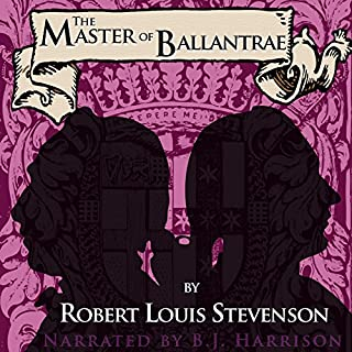 The Master of Ballantrae audiobook cover art