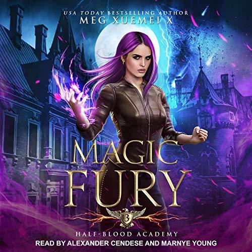 Magic Fury Audiobook By Meg Xuemei X cover art