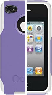 OtterBox Commuter Series Hybrid Case for AT&T and Verizon iPhone 4 (Purple/White) (Doesn't support iPhone 4S)
