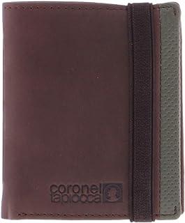 Coronel Tapiocca Cartera Hombre/Adolescente con Compartimentos Para billetes, bolsillo, ranuras para tarjetas y departamen...