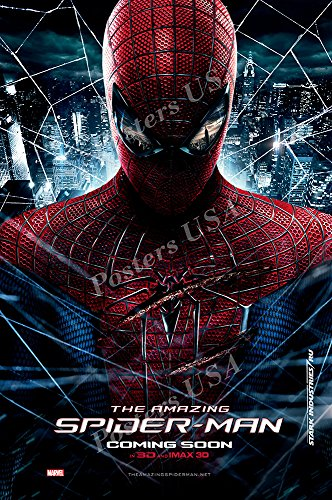 Marvel Amazing Spiderman Movie Poster Glossy Finish Made in USA - FIL297 (24