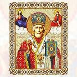 Diamant Pintura 5D Diy Diamante Pintura Punto De Cruz Religión Icono Del Líder Diamante Mosaico Verdadero Religioso Hombres Diamante 30X40Cm