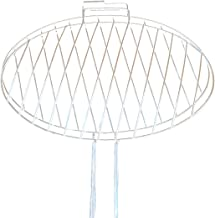 Barbacoa portátil Barbacoa de Acero Inoxidable para Acampar en el jardín Parrilla para la Carne de Pescado 42 * 26 cm